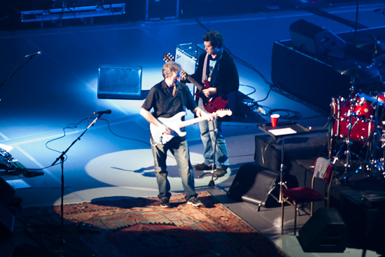 Eric Claption and Jeff Beck