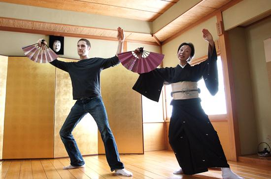 Joseph learns Nihon Buyo
