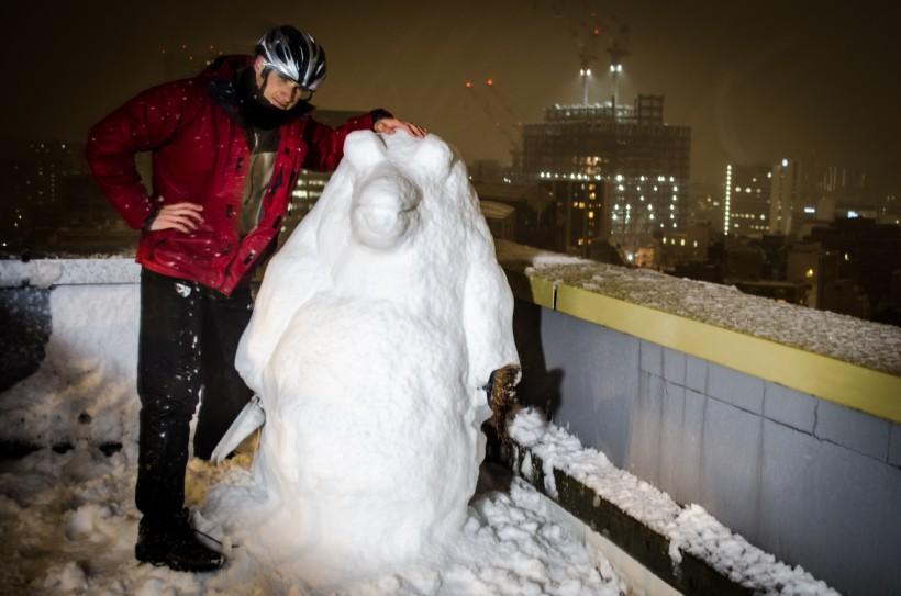 Snow Penguin and Joseph