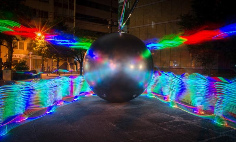 LED Art of Running Iidabashi_2449